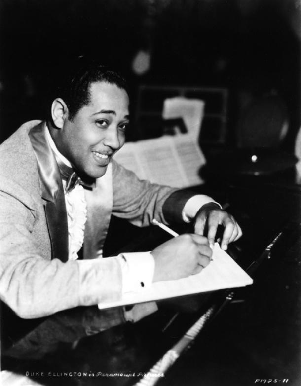 Duke Ellington, poco después de abandonar el Cotton Club.