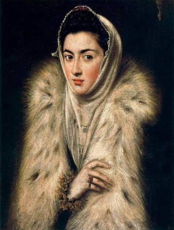 dama del armiño