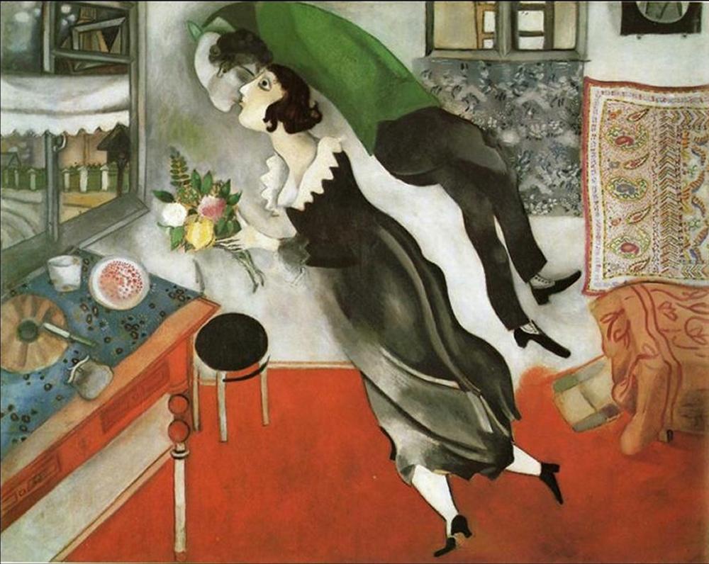 Marc Chagall, un auténtico vanguardista (+10 obras)