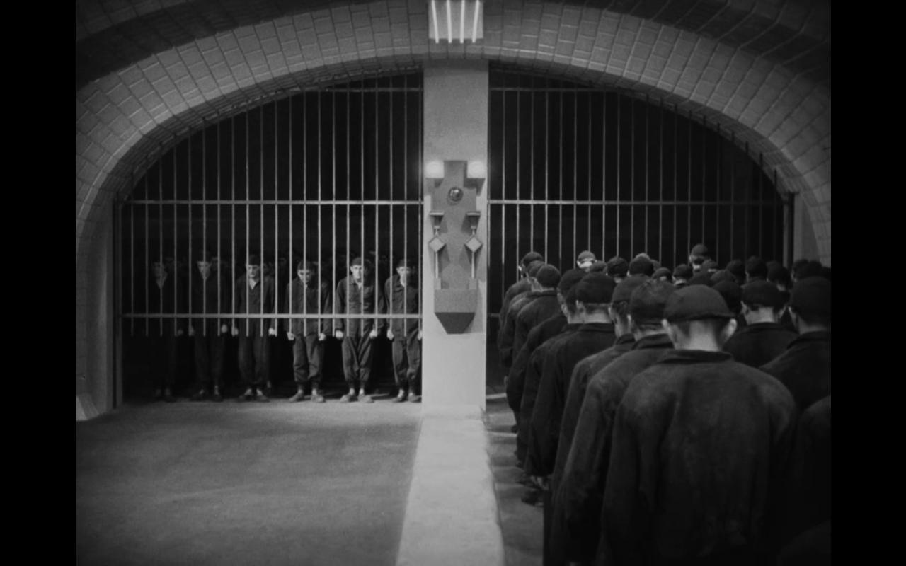 """Metrópolis"""", de Fritz Lang (1926). - líneas sobre arte"""