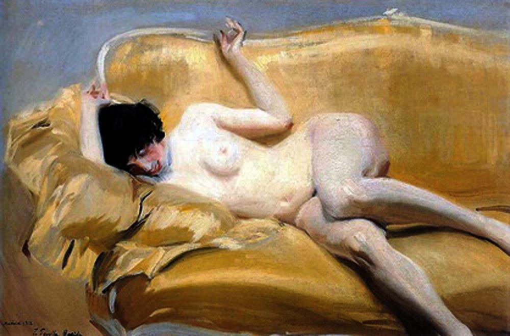 Resultado de imagen de sorolla desnudo