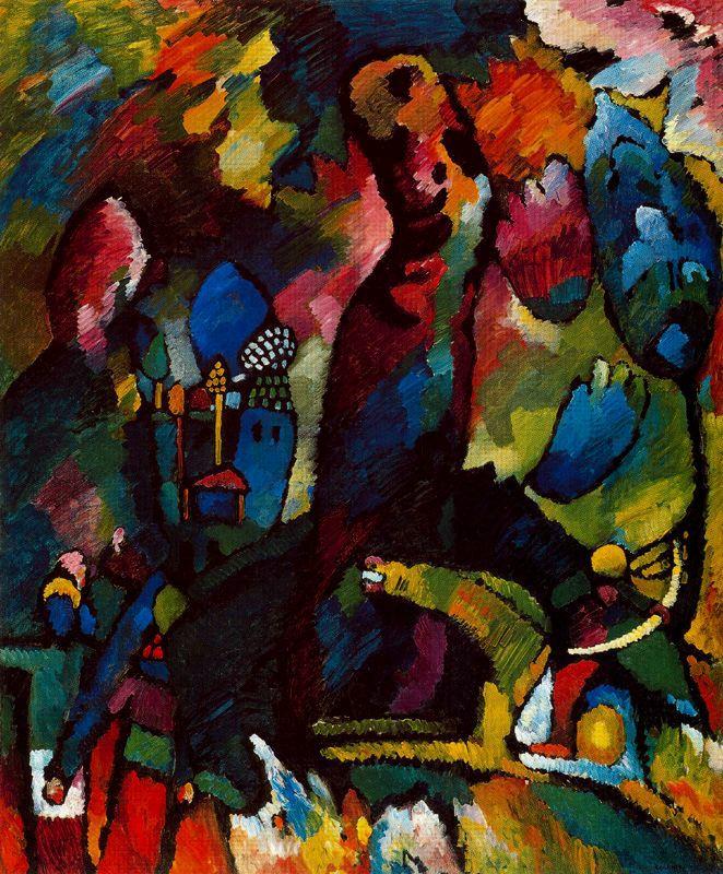 Kandinsky Y La Sinfonía De Los Colores Líneas Sobre Arte